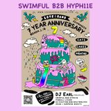 Dada Shanghai : Love Bang 7 Year Anniversary : Swimful B2B Hyph11e : Live Room Recording