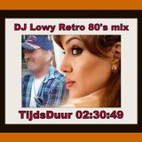 DJ Lowy Retro 80's mix