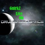 GuirkZ live on DrumBase.space all Vinyl Jungle