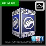 27th Feb #Show 365 Radio Network @official365RN @CailinxDana #Rock #Metal #Live