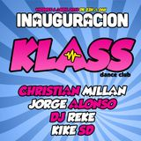 Christian Millan @ Klass Dance Club (Coslada, 06-04-18)