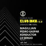 LX SERGIO @ Klub Inch 2.8 - Cairus Club (Amora/14.04.18)