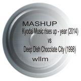 Deep Dish - Chocolate City 1998 vs Kyodai - Music rises up 2014