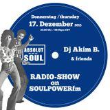 Absolut Soul Show /// 17.12.2015 on SOULPOWERfm