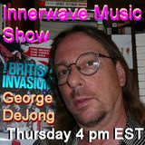 George DeJong visits with Poet & Author, Justin Spring on Innerwave Music Part 1