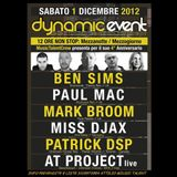 Miss Djax at Dynamic Event - La Luna Salerno Italy - 01.12.12