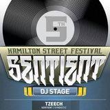 Tzeech--Sentient Lighting DJ Stage 2014