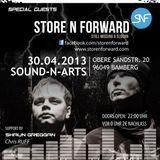 Store-N-Forward live at MAXimal Music 30.04.2013