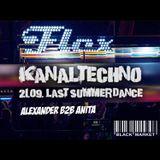 Alexander b2b Anita - Live @ Flex Vienna / Kanaltechno 21.09.2016 / Blackmarket
