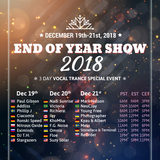 Digitally Imported Vocal Trance End Of Year Show 2018 by Photographer