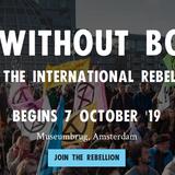 eXtinction Rebellion op de Stadhouderskade, 7 oktober 2019