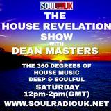 DEAN MASTERS - HOUSE REVELATION SHOW - SOUL RADIO UK 13-04-19