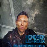 Hendrik Le-Roux LIVESET 29 September 2016