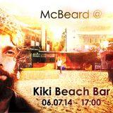 Beard-Tape#009_Live@Kiki_Blofeld_Beach_06_07_2014
