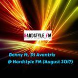 Benny & DJ Avantrix @ Hardstyle FM (August 2017)