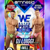 iWill - WE Party Official Pre Party Pride Madrid - The Farm @ AMNESIA MILANO