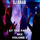 DJ Brab - At The Party Mix Vol 5 (Section DJ Brab)
