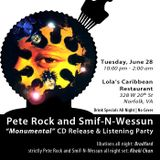 """Monumental"": Pete Rock and Smif-N-Wessun set from Lola's (June 28, 2011)"