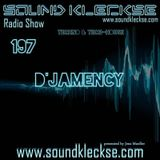 D'JAMENCY @ Sound Kleckse Radio Show #0197 - August 2016 - DE