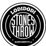 LODIDODI  radio show 6.3  -01/10/2015 -  Stones Throw artists
