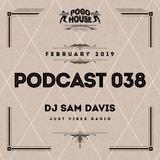 ► Pogo House Podcast #038 - DJ Sam Davis (February 2019)