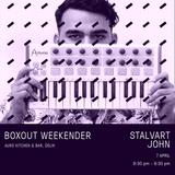 Stalvart John Live @ Boxout Weekender [07-04-2018]