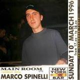 MARCO SPINELLI new york bar after-tea dance live at vertigo, bologna italy 10.03.1996
