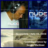 "Sergio Martínez presents ""Cool Experience""- NUBE MUSIC Radio - Dj session - July 13, 2016."