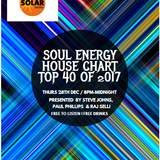 The Solar Radio Soul Energy House Chart for  2017 www.soulfulgrooves.com