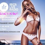 Frankie Deep - Ibiza Live Radio Deep Highlights Radio Show (Full Mix)