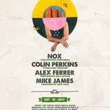 Deeplomatic Summer Series - Nox, Colin Perkins, Alex Ferrer & Mike James - Podcast 22 - 26/07/2017