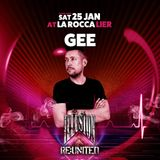 Gee live at Illusion reunited 100% pure vinyl set (La Rocca Backstage 25-01-2020)