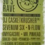 DJ Casketkrusher @ KMK 90's Rave (10-05-2014)
