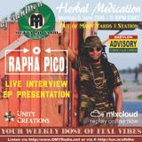 Rapha Pico, conscious roots warrior on the Herbal Medication Show
