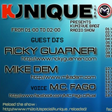 "Kunique B.A.DJ February 6th 2013 On Air ""Ricky Guarneri"" on Radio m2o"