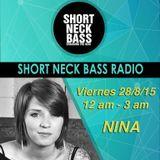 NINA Special Techno Set - Shortneck Bass Radio Programa #6 @ intro 90.5 (2015)