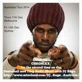 Chronixx Australian Interview on the Dancehall & Ting Radio Show Nov2014