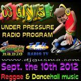 UNDER PRESSURE Reggae Radio Program (Sept. the 10th)