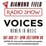 Radio Pure Gently presents The Diamond Field Radio Show - Voices Special - 27-08-2016