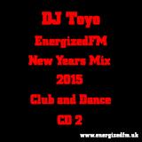 DJ Toyo - EnergizedFM New Years Mix 2015 (Club, Dance) (CD2)