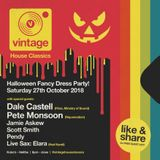 Pete Monsoon - Vintage @ Kokos, Halifax - Halloween Special (Oct 2018)