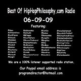 Best Of HipHopPhilosophy.com Radio - 06-09-09