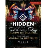 Hidden VIP - Boxing Day Special [26.12.16] - Mixed By: @DJDAYDAY_, @DOUGIEFRESHDJ & @DJADAMK_