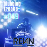 THE CLUBBING FREAKS #049 Special Guet Mix by SEBASTIAN REVAN (31-07-2014)