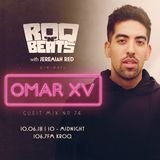 ROQ N BEATS with JEREMIAH RED 10.6.18 - GUEST MIX: OMAR XV