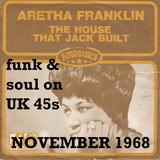 NOVEMBER 1968: funk & soul on UK 45s