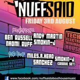 Nuff Said 030812 Main Room - DJ Smokin-J