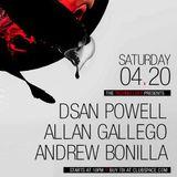 Andrew Bonilla - LIVE @ The Techno Loft - Club Space Miami 4.20.2013