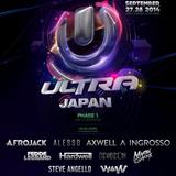 Ken Ishii live @ Ultra Music Festival Japan 2014 (Tokyo, Odaiba Ultra Park) – 27.09.2014