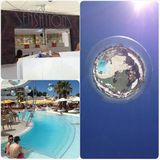 CLARA DA COSTA & LUIS DEL VILLAR - IBIZA SENSATIONS @OCEAN BEACH CLUB - 5TH AUGUST 2014